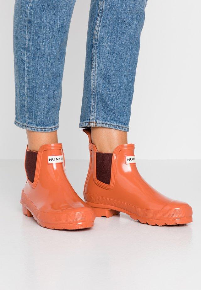 WOMENS ORIGINAL CHELSEA GLOSS - Stivali di gomma - siren