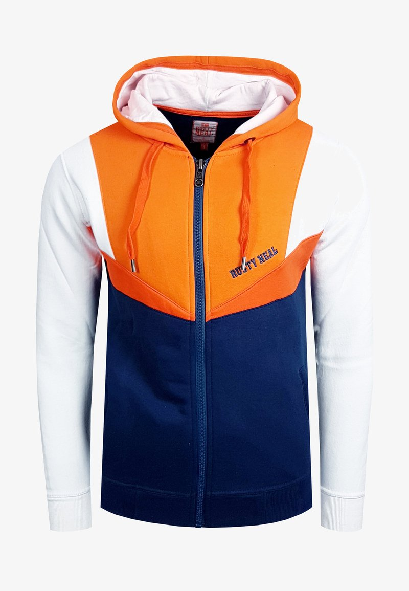 Rusty Neal - Zip-up hoodie - orange