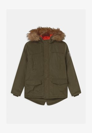 BOYS - Parka - olive night