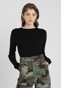 ONLY - ONLNATALIA - Sweter - black - 0