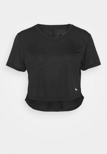 ONE BREATHE - Basic T-shirt - black/white