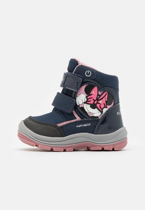 DINSEY FLANFIL GIRL ABX - Winter boots - navy