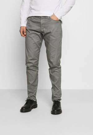 SCUTAR 3D SLIM TAPERED - Broek - grey