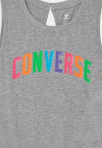 Converse - CONVERSE MULTI COLORED ROMPER - Jumpsuit - grey heather/multi nep - 2