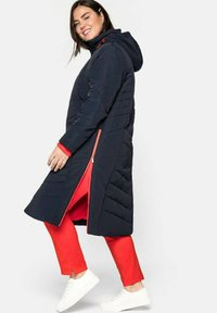 Sheego - Cappotto invernale - nachtblau - 3