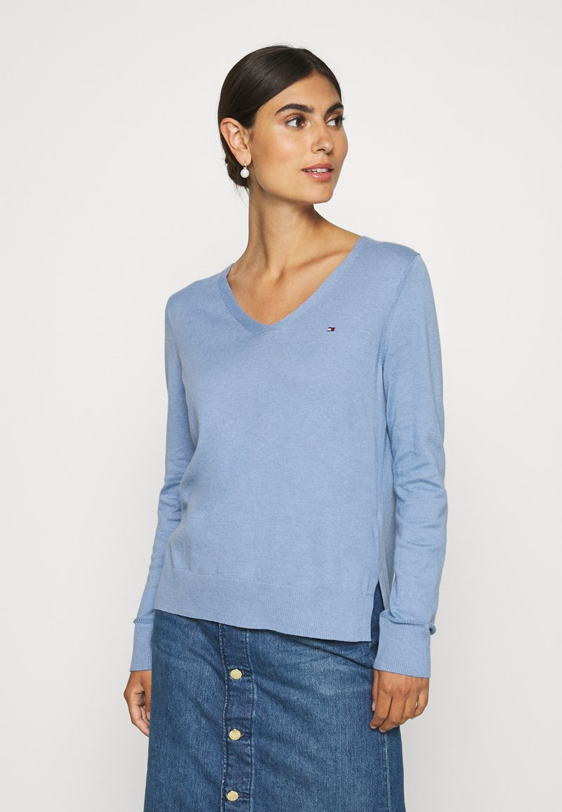 Tommy Hilfiger - NOLAA - Sweter - moon blue