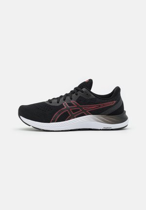GEL EXCITE 8 - Chaussures de running neutres - black/electric red