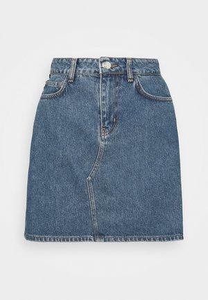 VIEW MINI SKIRT  - Mini skirt - light blue
