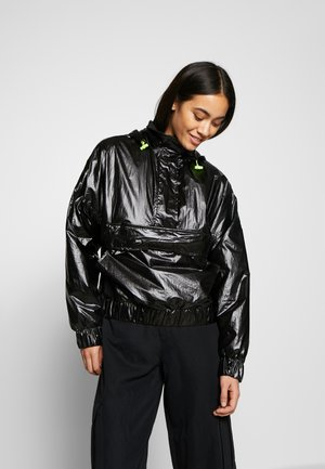 LADIES VANISH CRINKLE PULL OVER JACKET - Windbreaker - black