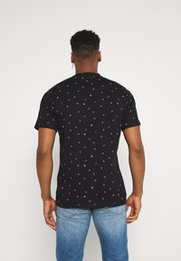 Only & Sons - ONSMALIK LIFE TEE - T-shirt med print - black - 2