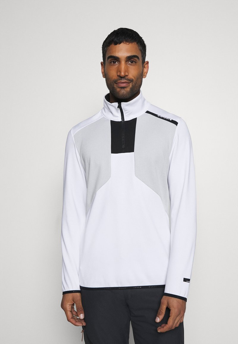Icepeak - BRAYTON - Fleece jumper - optic white