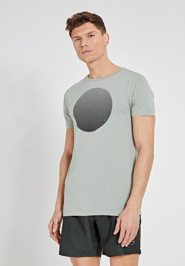 T-shirt imprimé - miami pistache