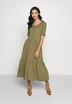 JDYDALILA FROSTY - Jersey dress - martini olive