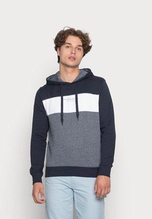 JJMONSE HOOD - Sweatshirt - navy blazer