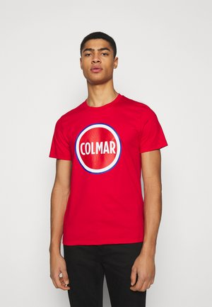 FIFTH - T-shirt con stampa - red