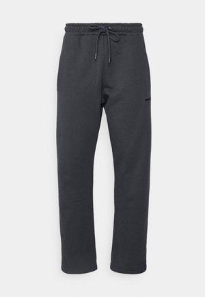 LOGO WIDE PANTS UNISEX - Träningsbyxor - vintage grey