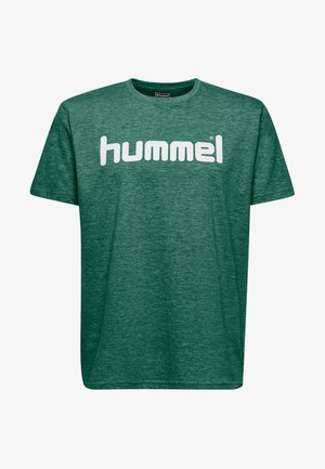 HMLGO - Print T-shirt - green