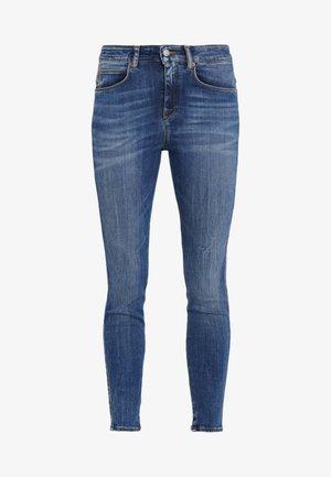 WET - Jeans Skinny - mid blue wash