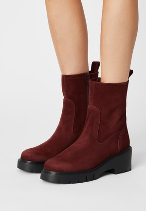 JOFO - Platform ankle boots - pinot