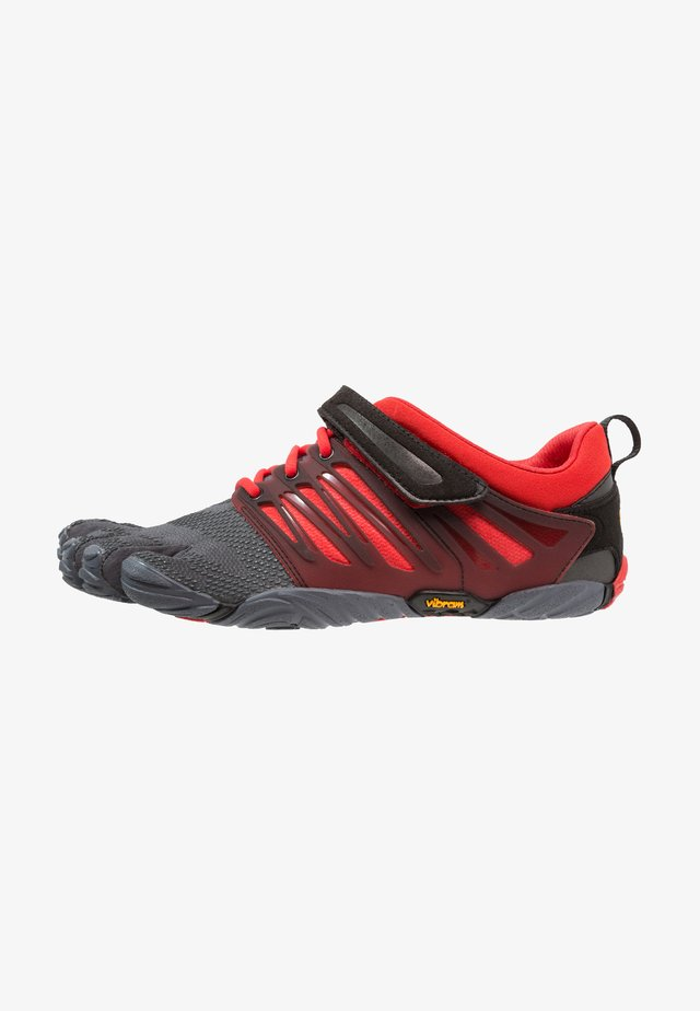 V-TRAIN - Obuwie treningowe - grey/black/red