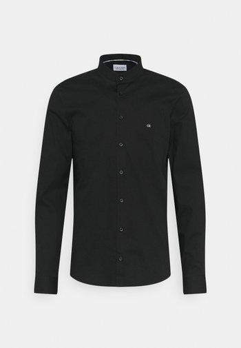 LOGO STRETCH SLIM - Camicia elegante - black