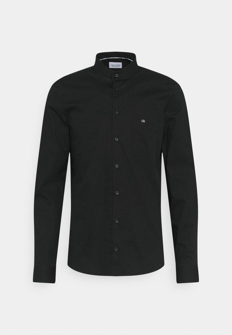 Calvin Klein Tailored - LOGO STRETCH SLIM - Formal shirt - black