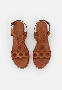 Musse & Cloud - NENUFAR - Platform sandals - brown - 5