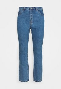 Missguided Plus - WRATH HIGH WAISTED - Straight leg jeans - mid auth blue - 4
