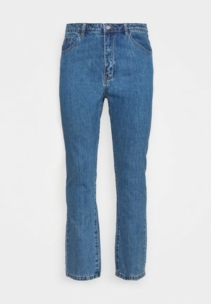WRATH HIGH WAISTED - Straight leg jeans - mid auth blue