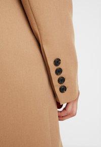NA-KD - WIDE LAPEL BLAZER DRESS - Shirt dress - camel - 5