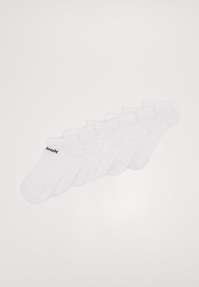 ACT CORE INSIDE SOCK 6 PACK - Calcetines de deporte - white