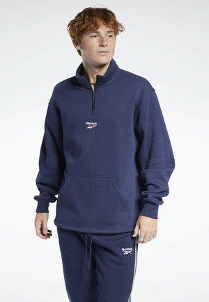CLASSIC TEAMSPORTS CASUAL PULLOVER - Sweatshirt - blue