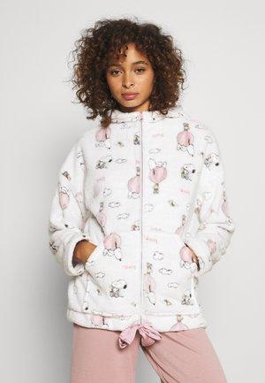 SNOOPY COTTAGE - Pyjamashirt - ecrus