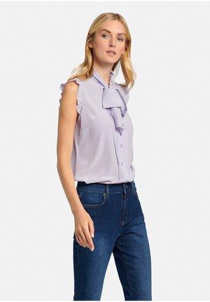 Overhemdblouse - flieder