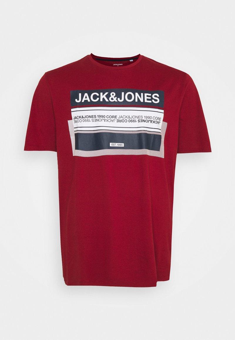 Jack & Jones - JCOBOOSTER TEE CREW NECK - Print T-shirt - sun-dried tomato