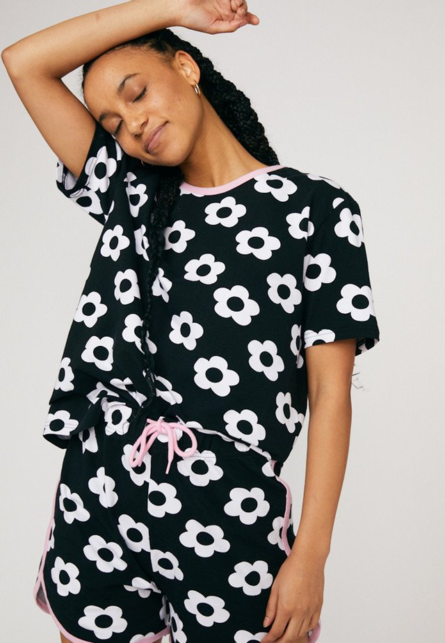 SET DAISY  - Pyjama - black
