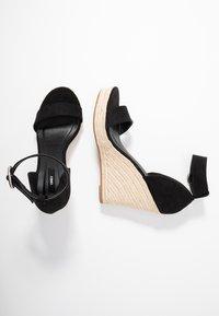 ONLY SHOES - Sandales à talons hauts - black - 3
