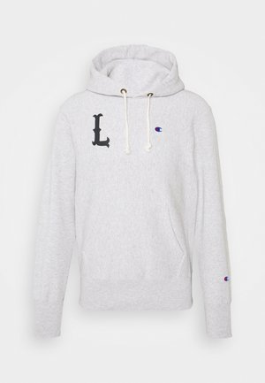 HOODED LONDON - Sweatshirt - mottled light grey