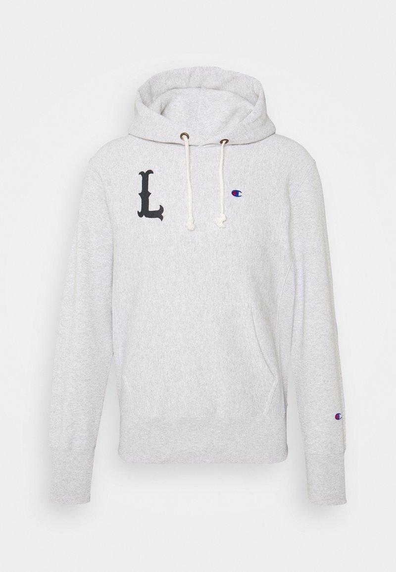 Champion Reverse Weave - HOODED LONDON - Sweatshirt - mottled light grey