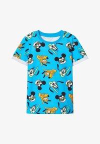 Name it - DISNEY - T-shirt print - hawaiian ocean - 0