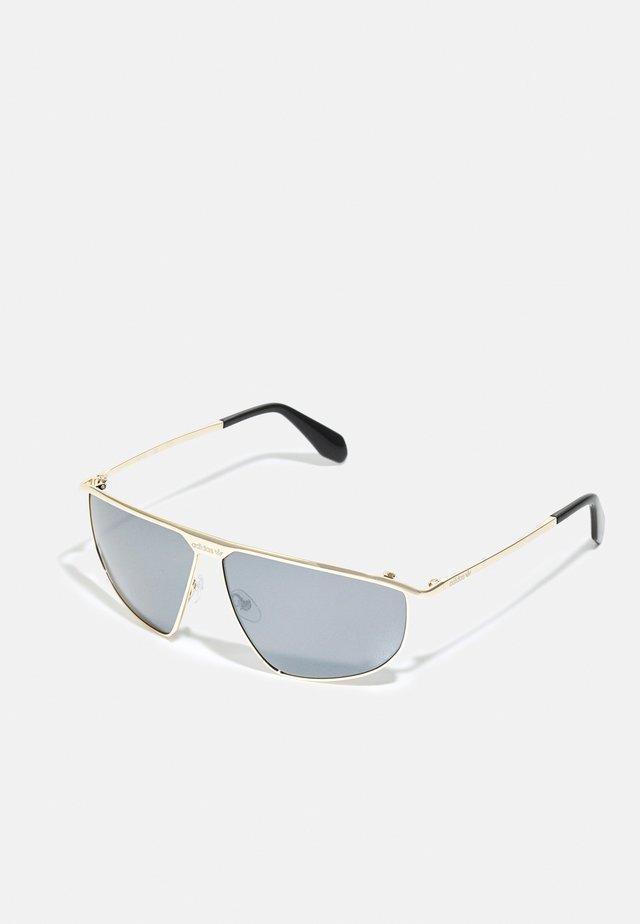 UNISEX - Sunglasses - gold-coloured/smoke mirror