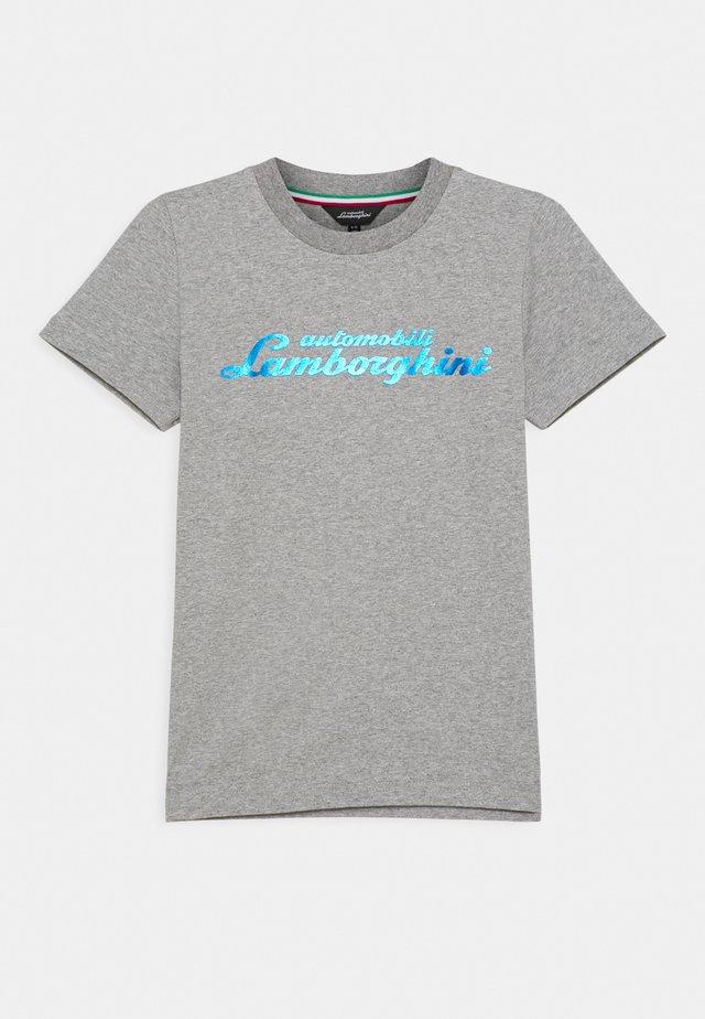 LOGOSCRIPT - T-shirt print - grey antares