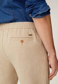 Mango - FLEK - Shorts - beige - 4