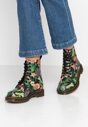 PASCAL - Kotníkové boty na platformě - multicolor