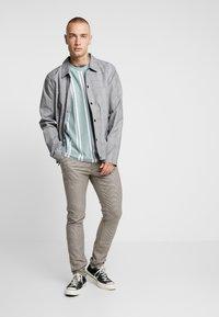 Topman - HERITAGE CHECK  - Pantaloni - brown - 1