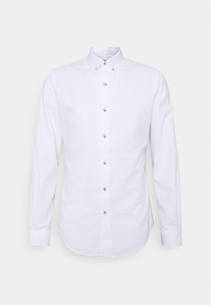 SLIM FIT DOBBY SHIRT - Koszula - white