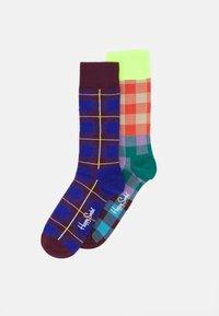 Happy Socks - ELECTRIC BUSINESS BUSINESS 2 PACK UNISEX - Socks - multi - 0