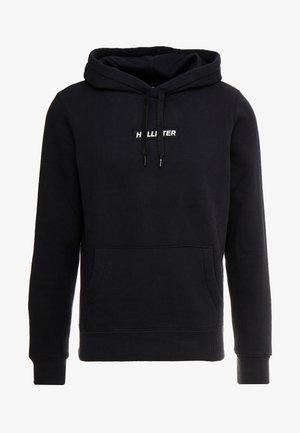 CENTERBOX LOGO - Jersey con capucha - black