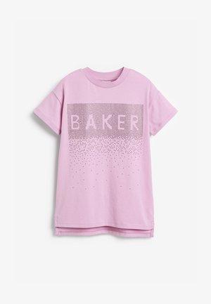 BAKER BY TED BAKER SPARKLE - Camiseta estampada - lilac
