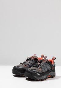 CMP - KIDS RIGEL LOW SHOE WP - Hiking shoes - stone/orange - 3